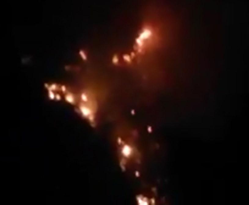 Wywołany przez Polaka pożar. /CEN    /East News