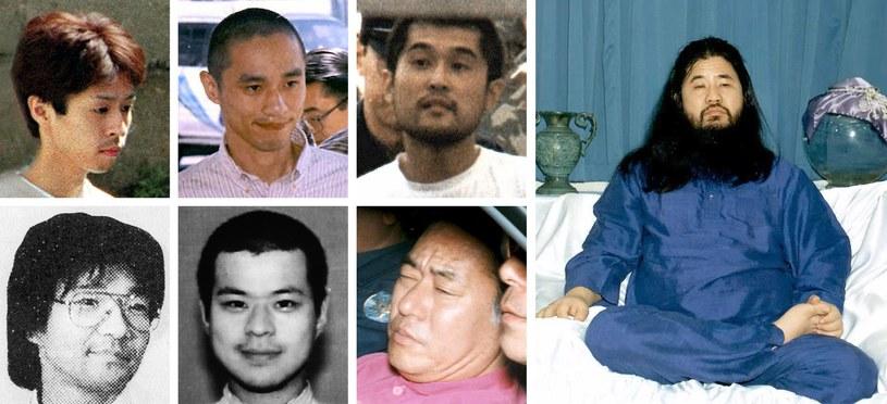 Wyznawcy sekty i jej lider zostali straceni /YOMIURI SHIMBUN /AFP