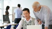 Wyższe zatrudnienie osób w wieku 55+