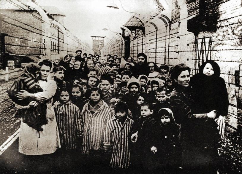 Wyzwolenie obozu Auschwitz-Birkenau /Agencja FORUM