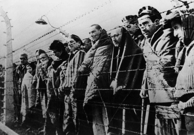 Wyzwolenie obozu Auschwitz w 1945 roku /Top Photo /Agencja FORUM