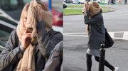 Wzburzona Marta Wierzbicka ucieka przed fotoreporterami. Randka się nie udała?