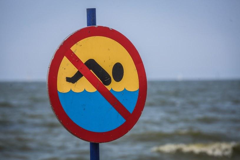 Wzburzony Bałtyk może być śmiertelnie niebezpieczny /Karolina Misztal /Reporter
