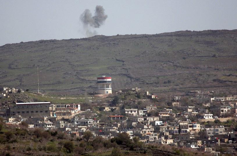 Wzgórza Golan są od 46 lat częściowo okupowane przez Izrael /AFP