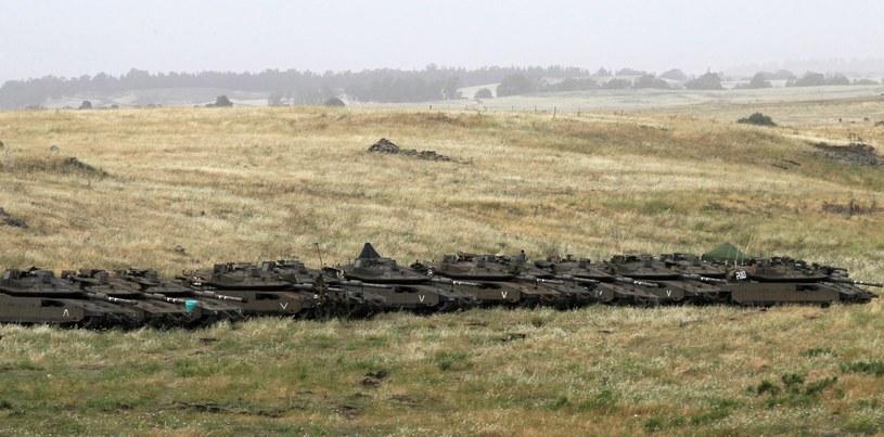 Wzgórza Golan /AFP