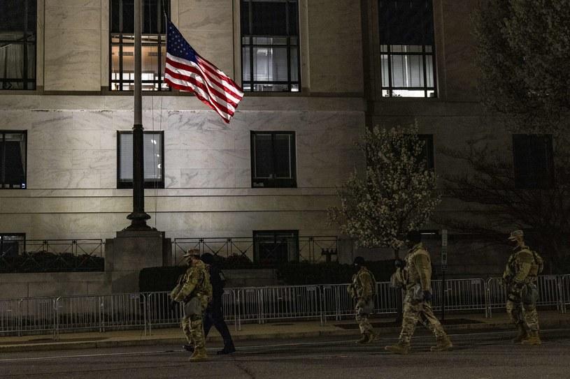 Wzmożona ochrona Kapitolu po ataku /AFP