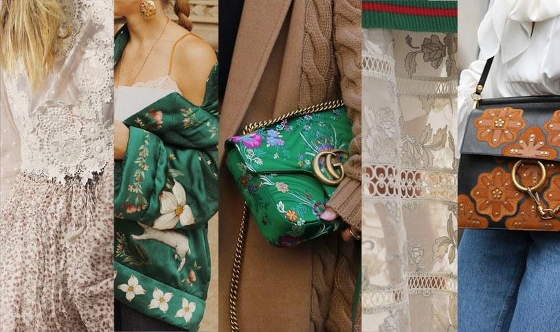 Wzory floral /materiały prasowe