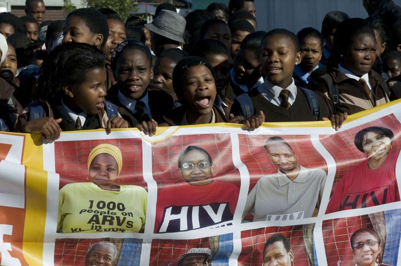 Wzrosła liczba nastolatków umierających na AIDS /AFP