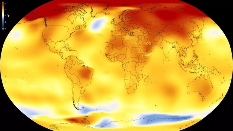 Wzrost temperatury doprowadzi do kolejnych fal upałów - a te, do apokaliptycznego scenariusza /NASA