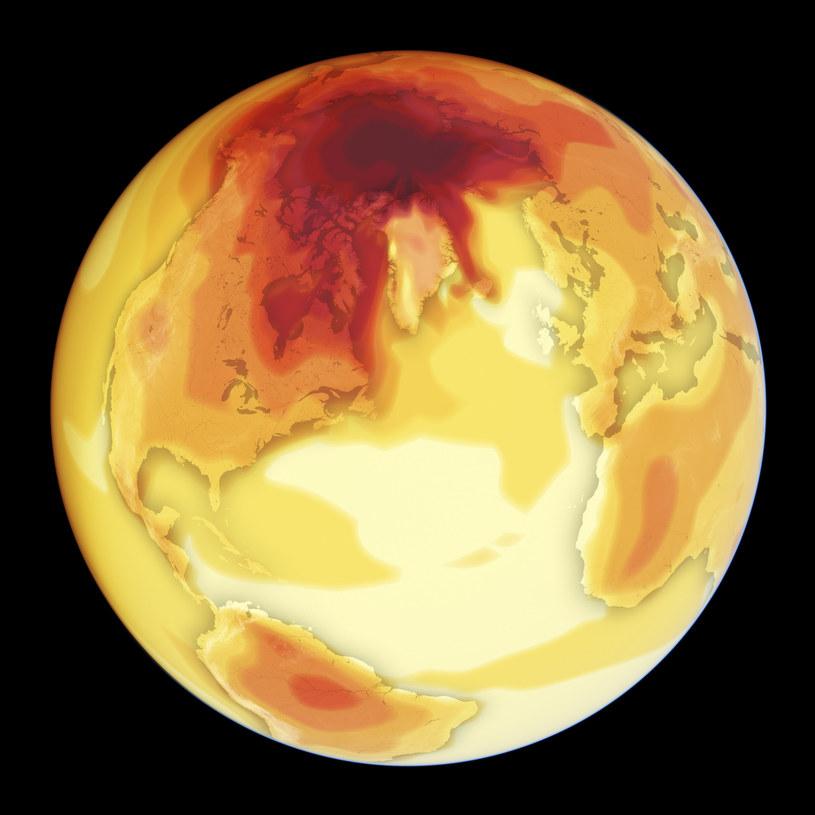 Wzrost temperatury na świecie o dwa stopnie w skali Celsjusza doprowadzi do ciągu kataklizmów. 4 stopnie mogą sprawić, że planeta nie będzie się nadawać do życia /FELIX PHARAND-DESCHENES, GLOBAIA/Science Photo Library /East News