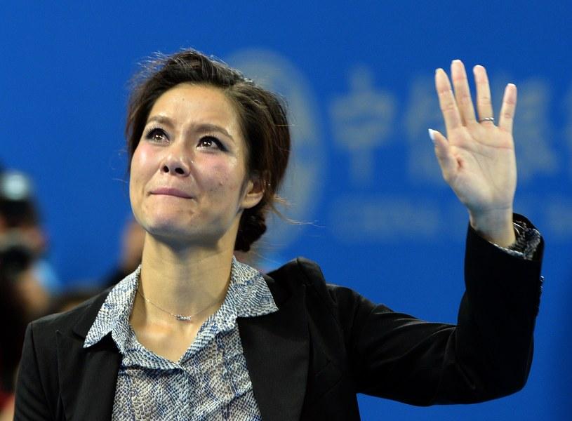 Wzruszona Na Li /AFP