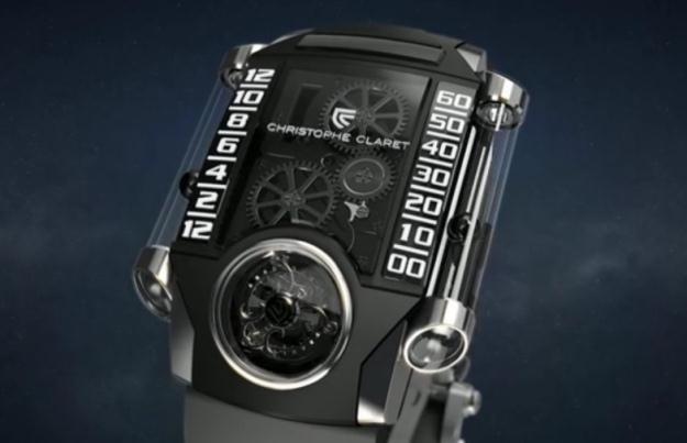 X-Trem-1 to jeden z najciekawszych zegarków.  Fot. Christophe Claret /materiały prasowe