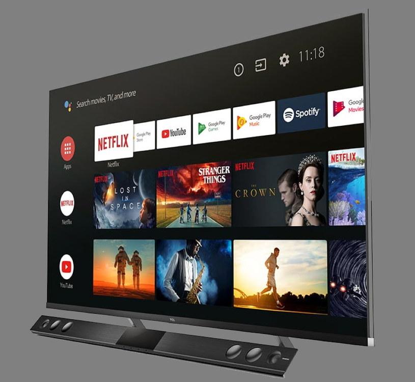 X81 korzysta z Android TV /materiały prasowe