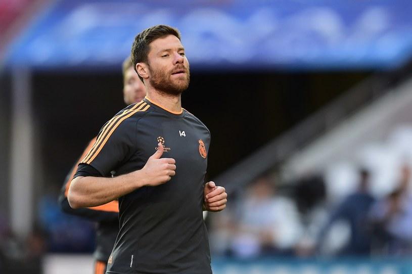 Xabi Alonso nie mógł zagrać w finale Ligi Mistrzów /AFP