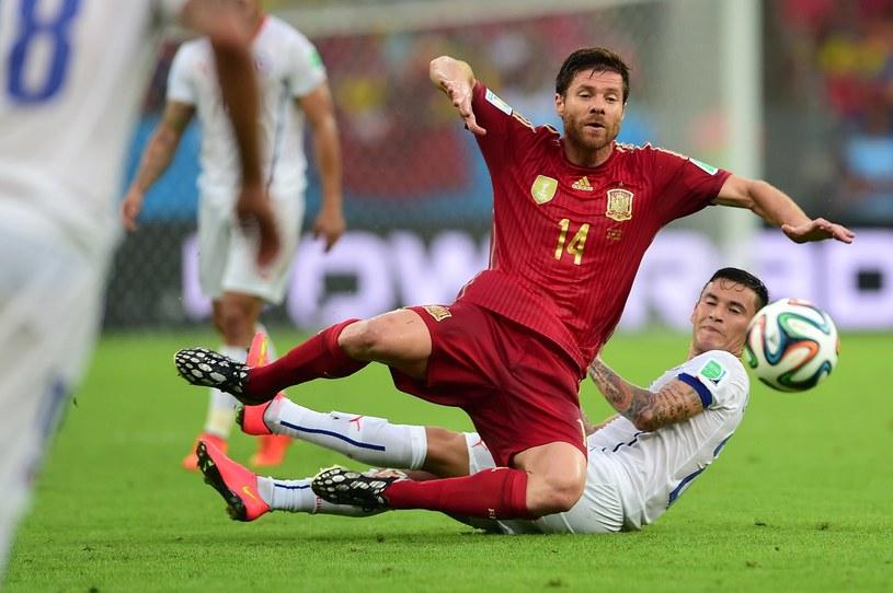 Xabi Alonso rozegrał 114 meczów w reprezentacji Hiszpanii /AFP