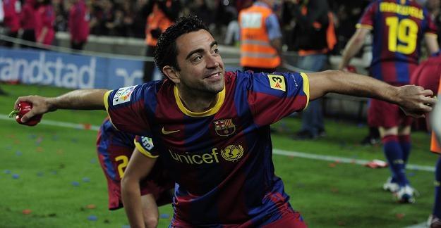 Xavi Hernandez - jeden z kluczowych piłkarzy w systemie gry Barcelony. /AFP