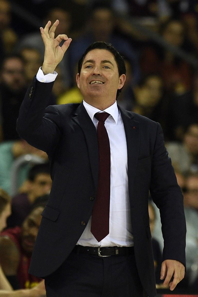 Xavi Pascual, trener piłkarzy ręcznych Barcelony /AFP