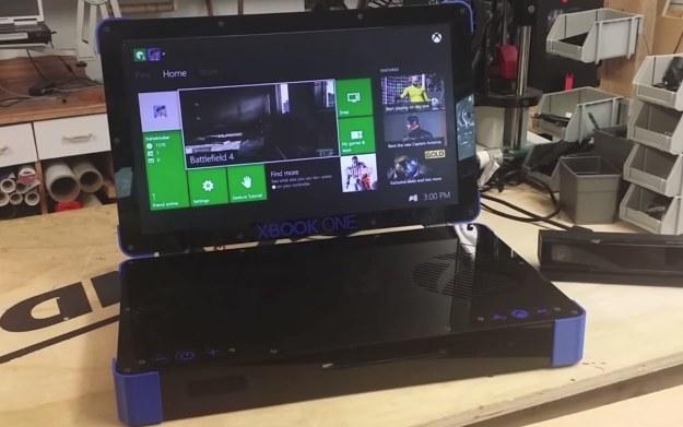 Xbook One - zdjęcie zmodyfikowanej konsoli Microsoftu - fragment prezentacji w serwisie YouTube.com /materiały prasowe