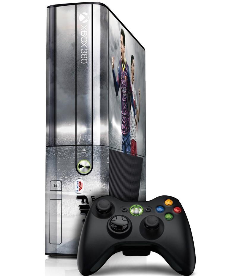 Xbox 360 - jedyny egzemplarz wydania dedykowanego Robertowi Lewandowskiemu /materiały prasowe