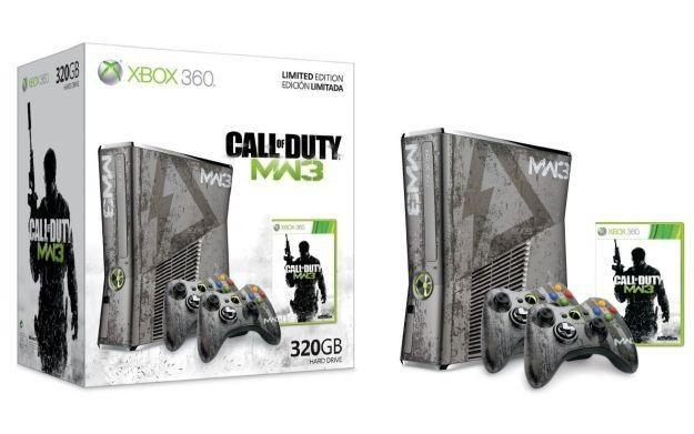 Xbox 360 w limitowanej wersji związanej z grą Call of Duty: Modern Warfare 3 /Informacja prasowa
