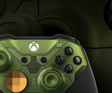 Xbox Elite Series 2 w barwach Halo Infinite