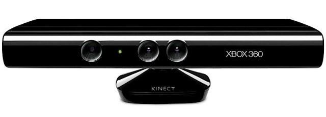 Xbox Kinect - ujęcie z góry /Informacja prasowa