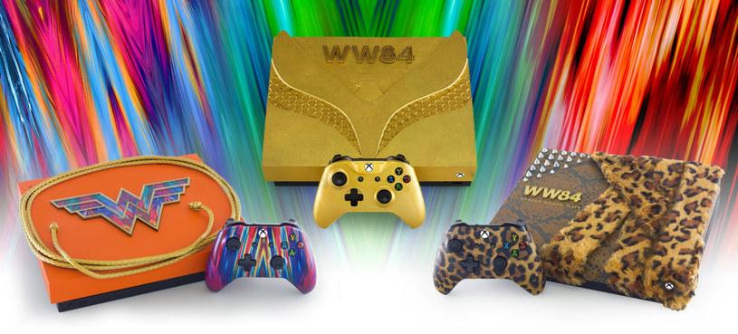 Xbox One w barwach WonderWoman /materiały prasowe