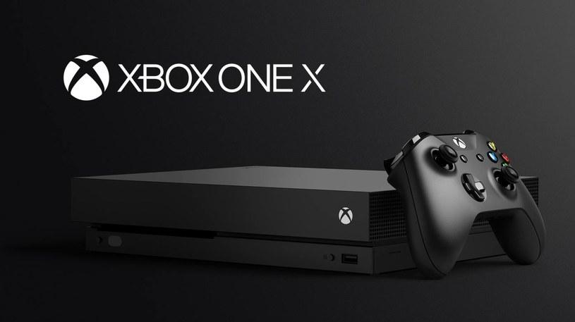 Xbox One X /materiały prasowe