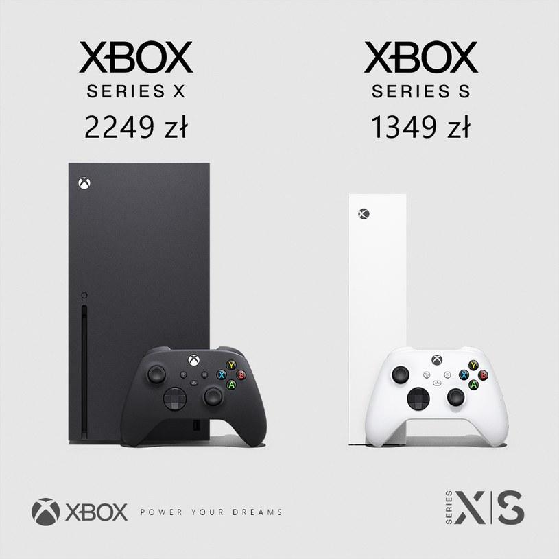 Xbox Series X kontra Xbox Series S /materiały prasowe