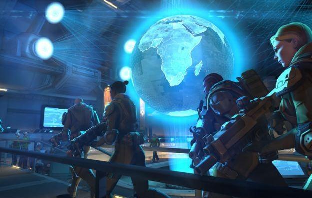 XCOM: Enemy Unknown - motyw graficzny /Informacja prasowa