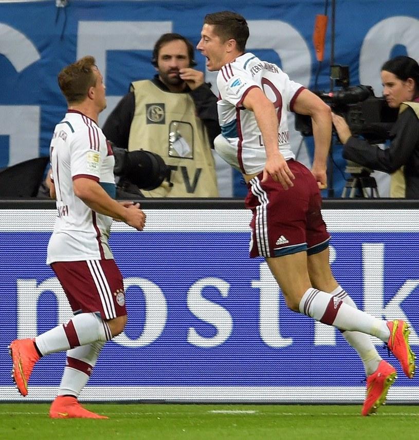 Xherdan Shaqiri i Robert Lewandowski w Bayernie. /AFP