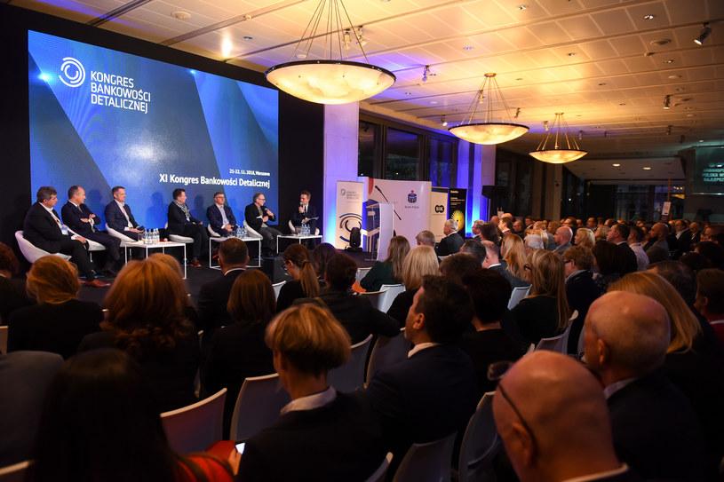 XI Kongres Bankowości Detalicznej w Warszawie / Źródło: KBD /&nbsp
