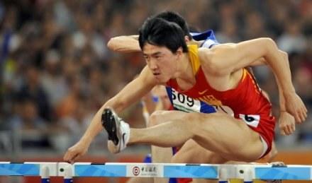 Xiang Liu miał być gwiazdą igrzysk w Pekinie, ale na przeszkodzie stanęła mu kontuzja /AFP