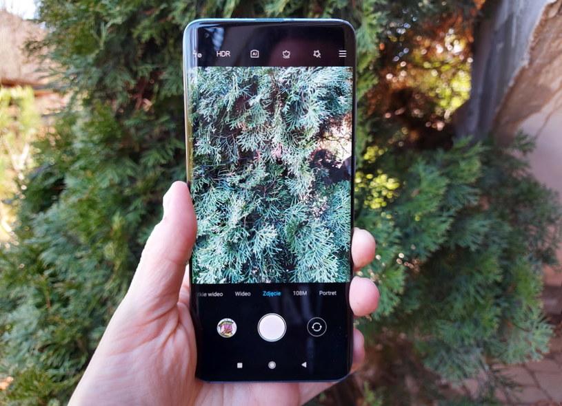 Xiaomi Mi 10  - interfejs aparatu /INTERIA.PL
