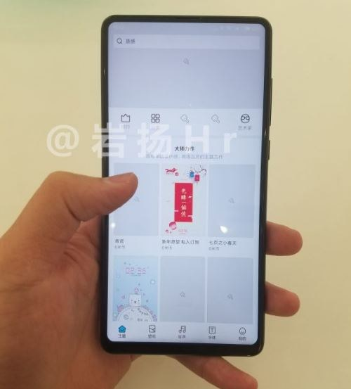 Xiaomi Mi Mix 2S będzie miał bardzo cienkie ramki /Weibo /materiał zewnętrzny