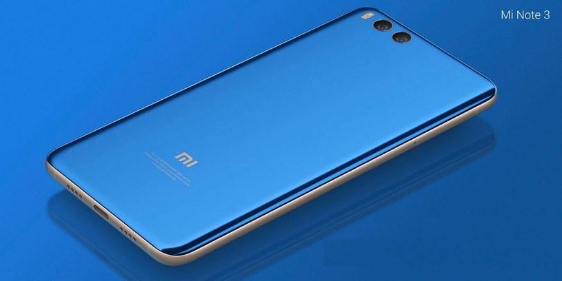Xiaomi Mi Note 3 /materiały prasowe