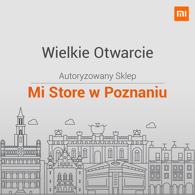 Xiaomi Mi Store w Poznaniu /materiały prasowe
