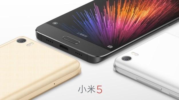 Xiaomi Mi5 /materiały prasowe