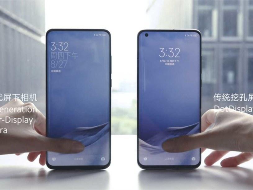 Xiaomi opracowuje kamerkę umieszczoną pod wyświetlaczem /materiały prasowe