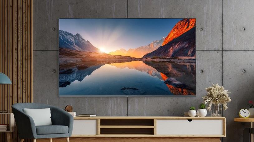 Xiaomi QLED 4K - telewizory QLED to odbiorniki LCD wykorzystujące podświetlanie i technologię kropki kwantowej /materiały prasowe