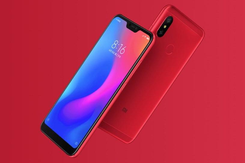 Xiaomi Redmi 6 Pro /materiały prasowe