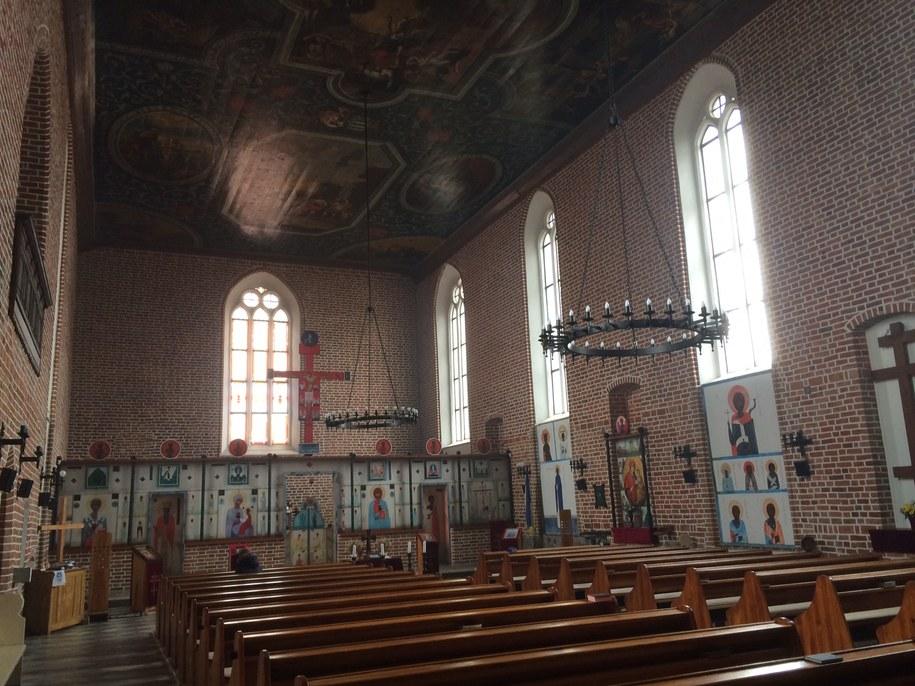 XIV-wieczny kościół w Górowie Iławeckim /Piotr Bułakowski /RMF FM