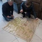 XIX-wieczna mapa latami leżała w piwnicy bloku pod Kamieniem Pomorskim