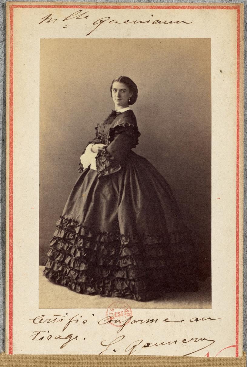XIX-wieczna tancerka paryskiej opery Constance Queniaux /Wikimedia Commons /