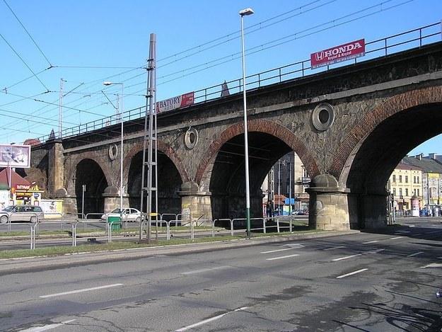 XIX-wieczny wiadukt nad ul. Grzegórzecką /foto. krakow.pl /