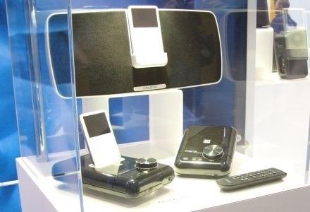 Xmod Wireless oraz Xdock, czyli muzyka bez kabla. /INTERIA.PL - Łukasz Kujawa