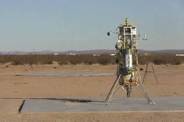 Xombie szykuje się do samodzielnego startu.  Fot. NASA /materiały prasowe