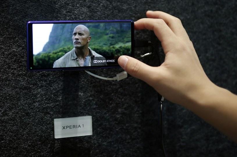 Xperia 1 - najważniejsza premiera mobilna Sony w tym roku /AFP