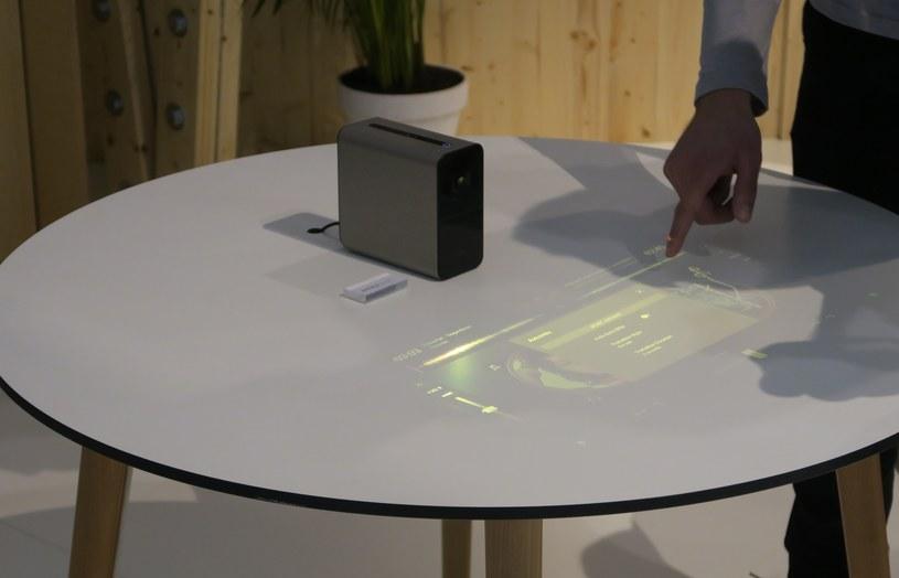 Xperia Touch w akcji /INTERIA.PL