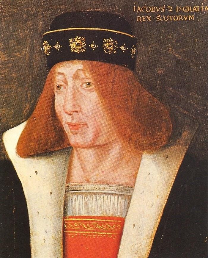 XVII-wieczny portret Jakuba II Stuarta /domena publiczna